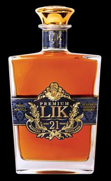 力21年蘇格蘭威士忌
